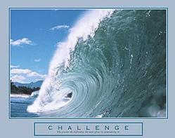 Challenge Big Wave Poster 28x22