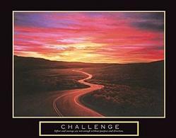 Challenge Road Poster 28x22