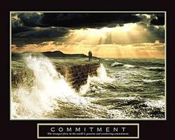 Commitment Couple Poster 28x22