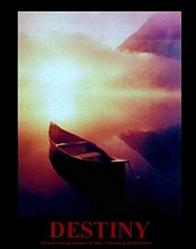 Destiny Canoe Poster 22x28