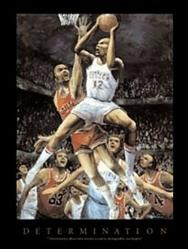 Determination Basketball Poster 22x28