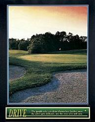 Drive Golf Poster 1 22x28