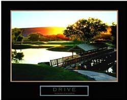 Drive Golf Poster 2 28x22