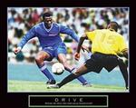 Drive Soccer Poster 28x22