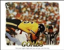 Goals Football Poster 2 28x22