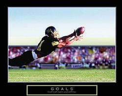 Goals Football Poster 1 28x22