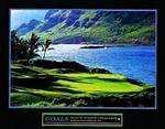 Goals Golf Poster 28x22