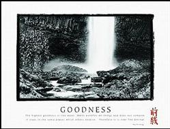 Goodness Waterfall Poster 1 28x22