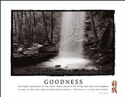 Goodness Waterfall Poster 2 28x22