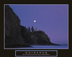 Guidance Lighthouse Poster 28x22