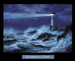 Hope Lighthouse Poster 28x22