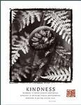 Kindness Fiddlehead Poster 22x28