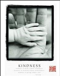 Kindness Hands Poster 22x28