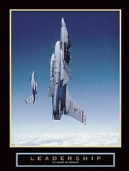Leadership Military Jets Poster 22x28
