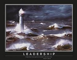 Leadership Lighthouse Poster 28x22