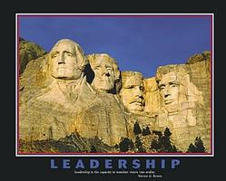 Leadership Mt. Rushmore 28x22
