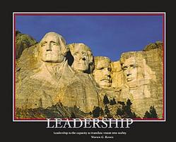 Leadership Mt. Rushmore 20x16