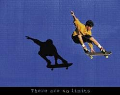 No Limits Skateboarding Poster 28x22