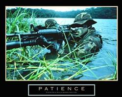 Patience Soldier Poster 28x22