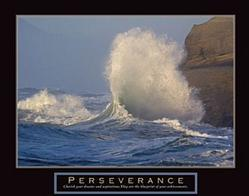 Perseverance Wave Poster 28x22