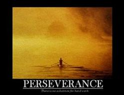 Perseverance Rowing Poster 28x22