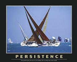 Persistence Sailboats Poster 28x22