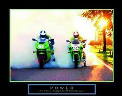 Power Bikers Poster 28x22
