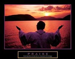 Praise Preacher Poster 28x22