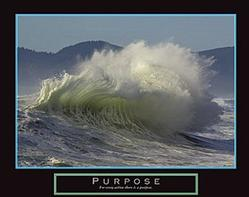 Purpose Wave Poster 28x22