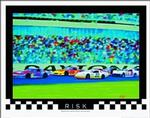 Risk Auto Racing Poster 28x22