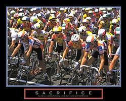 Sacrifice Bikers Poster 28x22