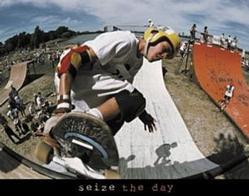 Seize Skateboarding Poster 28x22
