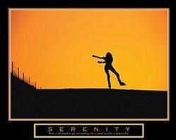 Serenity Skating Poster 28x22