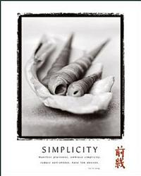 Simplicity Shells Poster 22x28