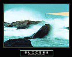 Success Lighthouse Poster 1 28x22