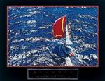 Success Sailboat Poster 28x22