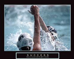 Success Water Polo Poster 28x22