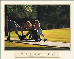 Teamwork Family Poster 28x22