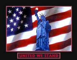 United we Stand Poster 28x22