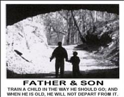 Values Father and Son Poster 1 28x22