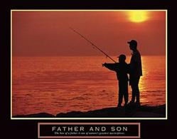 Values Father and Son Poster 2 28x22
