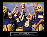 Victory Football Poster 28x22