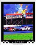 Victory Auto Racing Poster 22x28
