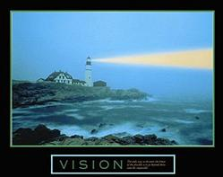 Vision Lighthouse Poster 28x22
