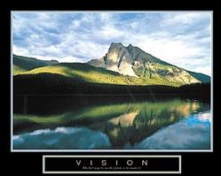 Vision Mountain Poster 28x22