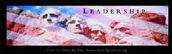 Leadership Mt. Rushmore 36x12