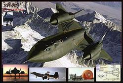 Aviation: SR71 Blackbird Poster 36x24