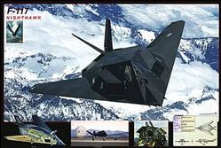 Aviation: F117 Nighthawk Poster 36x24