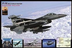 Aviation: F16 Fighting Falcon Poster 36x24