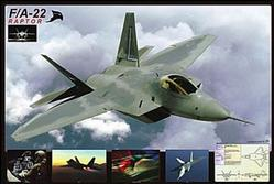 Aviation: F/A-22 Raptor Poster 36x24